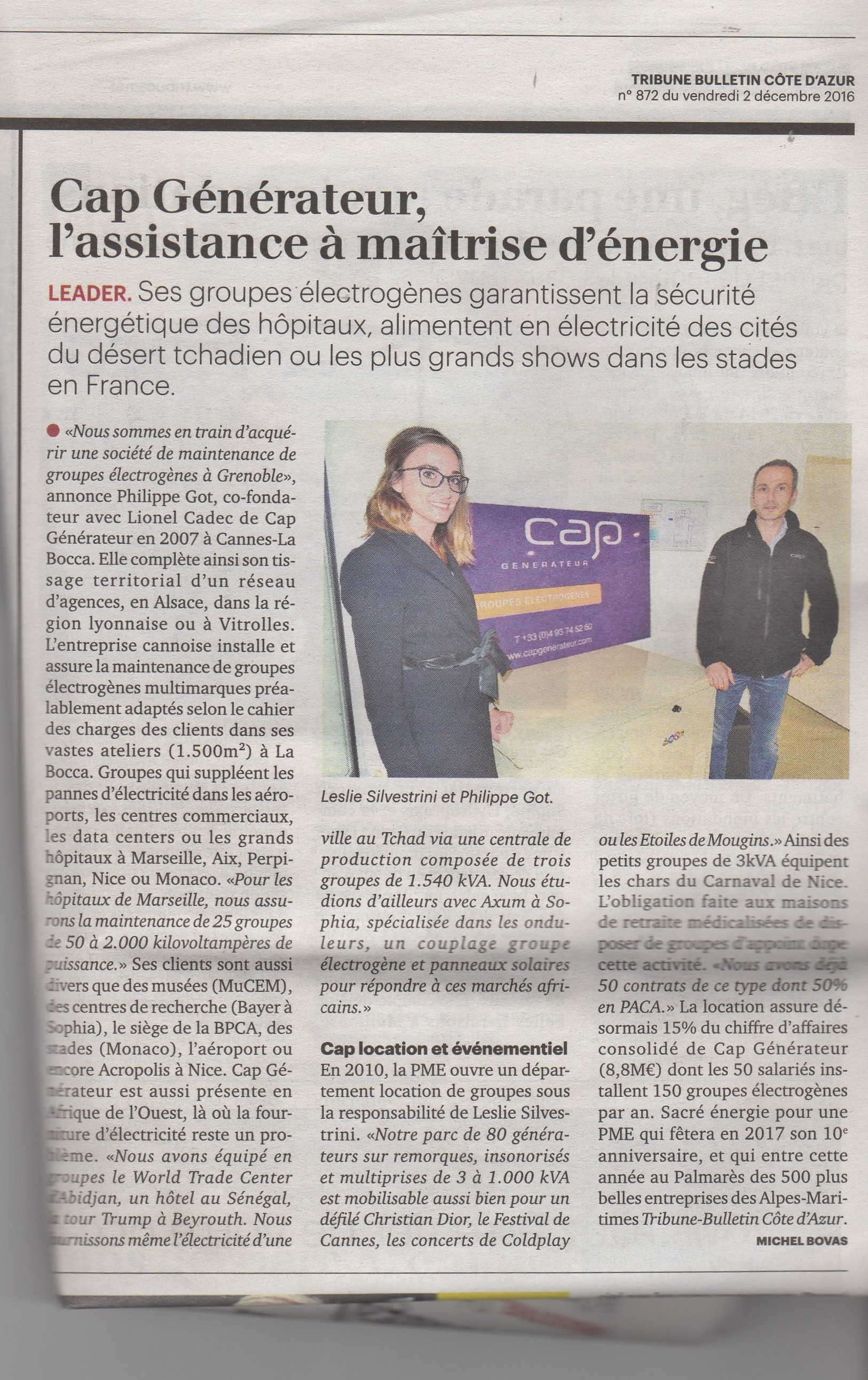 article-la-tribune-cote-azur-parution-le-02-dec-2016-1