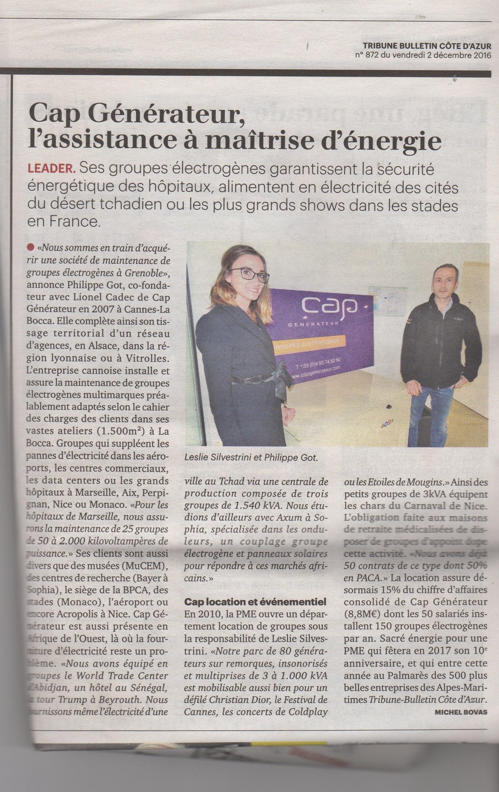 article-la-tribune-cote-azur-parution-le-02-dec-2016-1