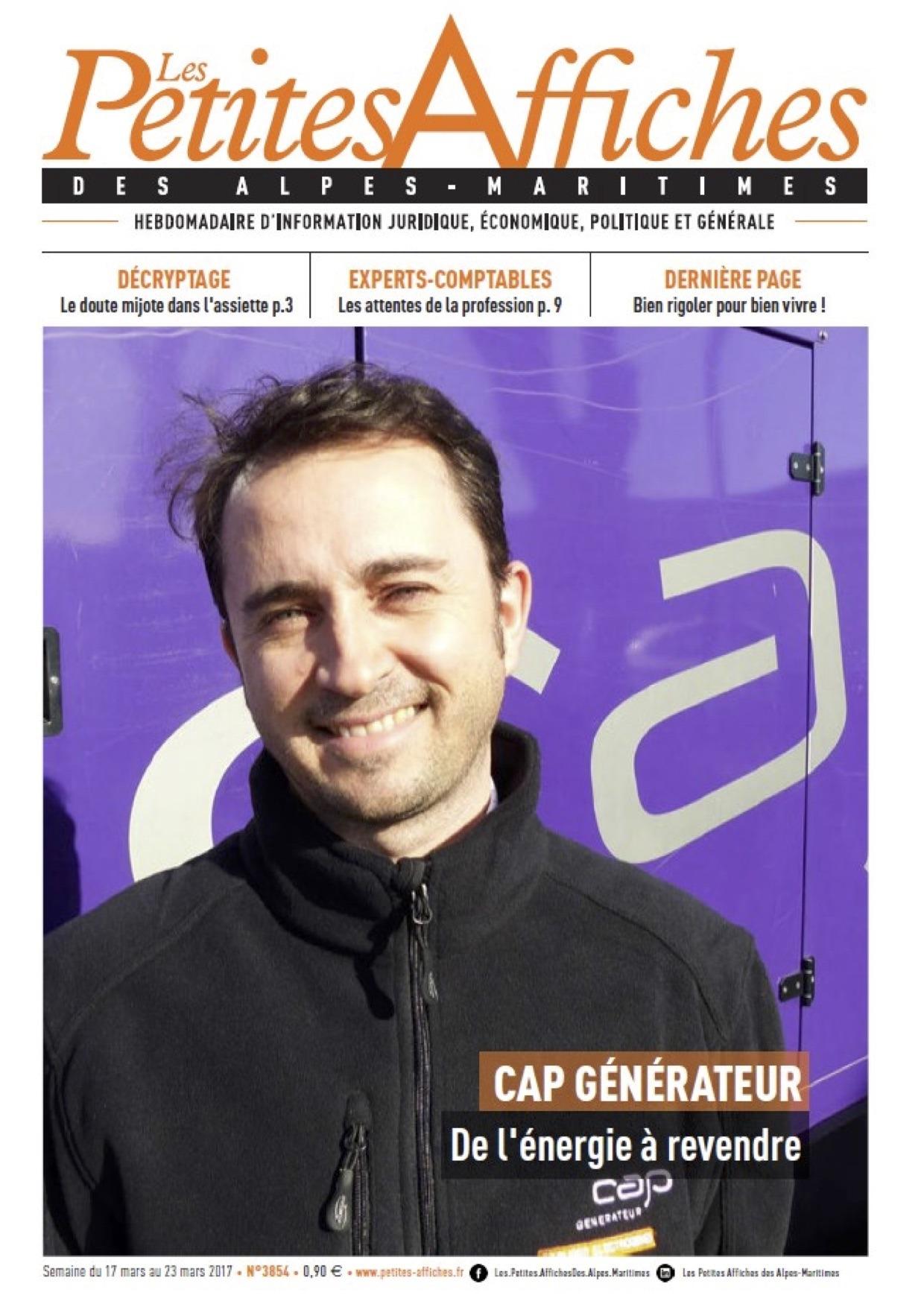 Journal Les petites affiches 230317 - article CAP